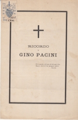 RICORDO DI GINO PACINI