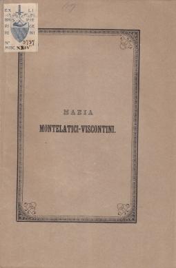 MARIA MONTELATICI-VISCONTINI RICORDO