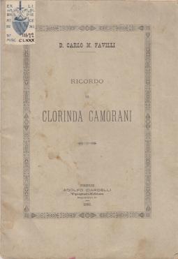RICORDO DI CLORINDA CAMORANI