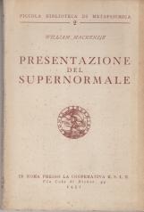PRESENTAZIONE DEL SUPERNORMALE