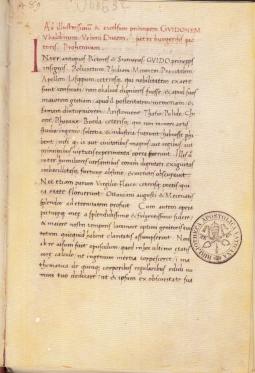 LIBELLUS DE QUINQUE CORPORIBUS REGOLARIS FAC SIMILE DEL CODICE URBINATE LATINO 632 DELLA BIBLIOTECA APOSTOLICA VATICANA