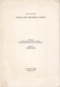 NICCHIA CON CROCIFISSO E STATUE