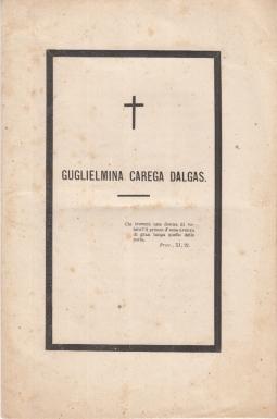 GUGLIELMINA CAREGA DALGAS