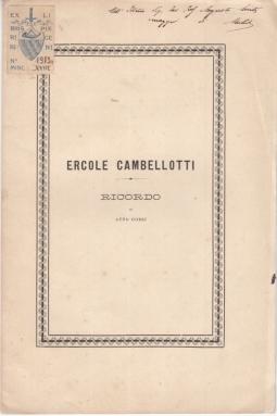 ERCOLE CAMBELLOTTI