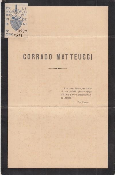 Corrado matteucci