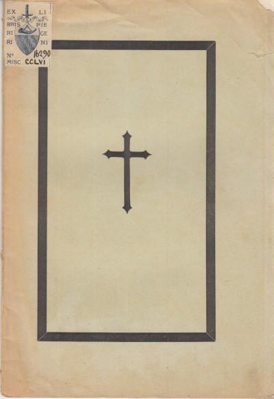 Nella solenne funebre commemorazione del cav. luigi torracchi il 29 maggio 1892 nell'oratorio delle stimmate in san lorenzo - Laghi G.