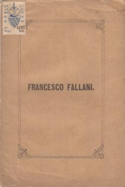 FRANCESCO FALLANI RICORDO DI MARO RICCI D.S.P.
