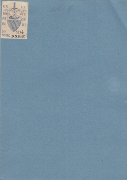 BIBLIOTECA NAZIONALE COLLEZIONE BUONAMICI - DONAZIONE ALLA BIBLIOTECA NAZIONALE CENTRALE DI FIRENZE COLLEZIONE DI RITRATTI DEL REV. DON ANTONIO BUONAMICI