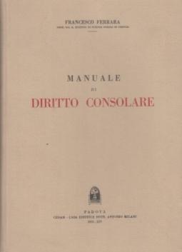 MANUALE DI DIRITTO CONSOLARE