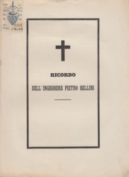 RICORDO DELL'INGEGNERE PIETRO BELLINI