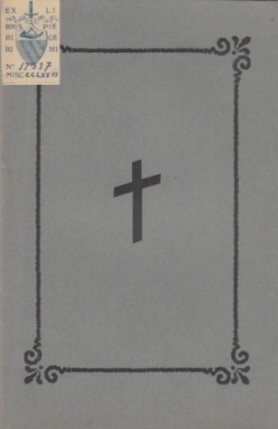 Parole dette nei funerali solenni celebrati nella collegiata di s. frediano in suffragio del parroco can. arcangelo serafini - Can. Giovanni Battista Calosi