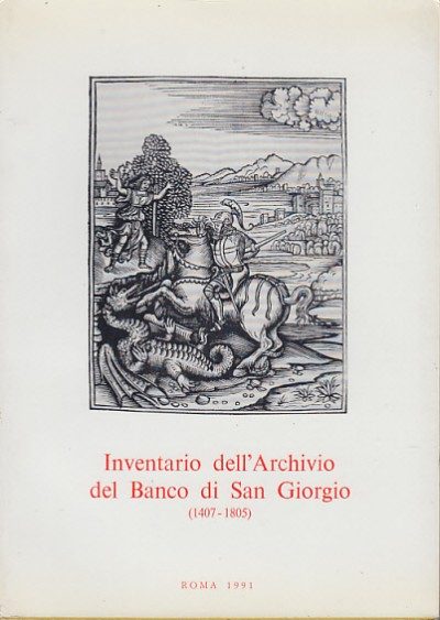 Inventario dell'archivio del banco di san giorgio (1407-1805). vol. iii banchi e tesoreria tomo 2 - Felloni Giuseppe (a Cura Di)