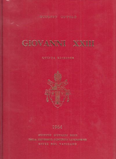 Giovanni xxiii - Cutolo Eugenio
