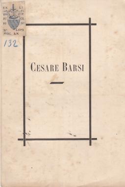CESARE BARSI