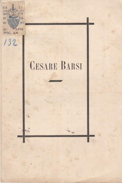 Cesare barsi - Ridolfi Carlo