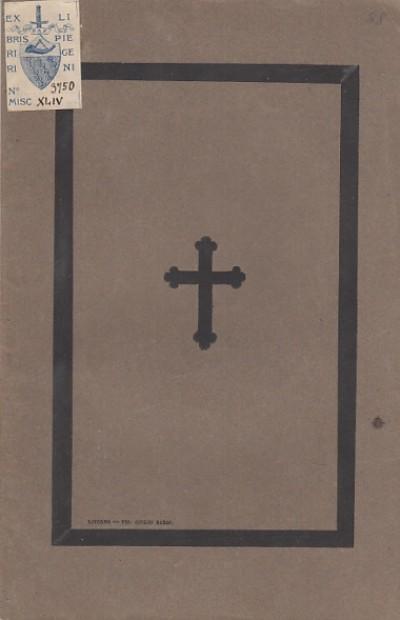 Necrologia di federigo mancini - Borghini Pietro