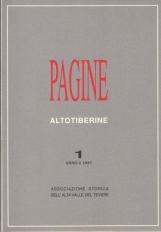 PAGINE ALTOTIBERINE ANNO 1 NUMERO 1 - 1997