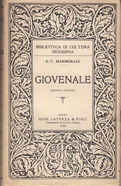 Giovenale - Marmorale Enzo Vincenzo