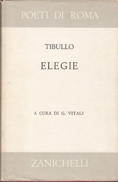 Elegie - Tibullo