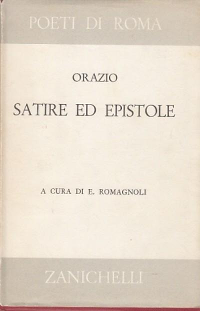 Satire ed epistole - Orazio
