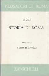 STORIA DI ROMA LIBRI IV-VI