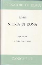 STORIA DI ROMA. LIBRI VII-VIII