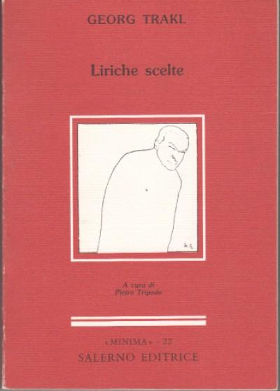 Liriche scelte - Trakl Georg