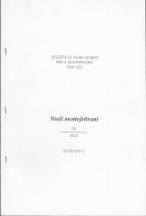 UN EREMO AI CONFINI DELLA MASSA TRABARIA LA CELLA DELLA BARUCOLA (1237-1295)