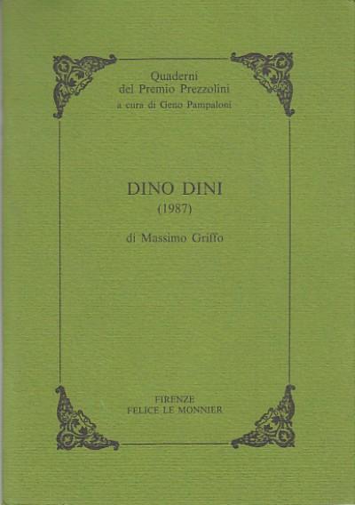 Dino dini (1987) - Griffo Massimo