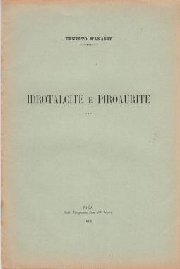 IDROTALCITE E PIROAURITE