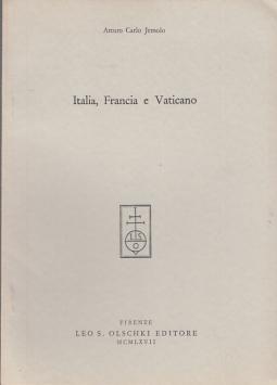 ITALIA, FRANCIA E VATICANO