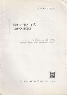 IRREGOLARITÀ CANONICHE