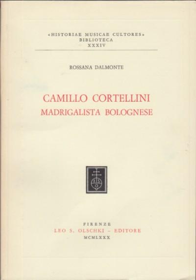 Camillo cortellini madrigalista bolognese - Dalmonte Rossana
