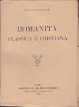 ROMANITÀ CLASSICA E CRISTIANA