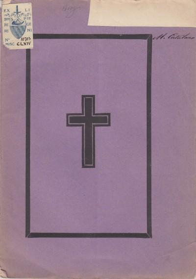 Una parola di dolore nei funerali di monsignor francesco consigli parroco della chiesa dei fiorentini il 17 febbraio 1880 - Errico Parroco Minetti