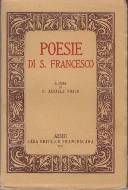 POESIE DI S. FRANCESCO
