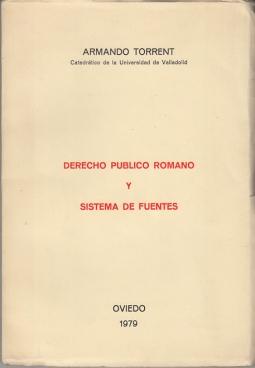 DERECHO PUBLICO ROMANO Y SISTEMA DE FUENTES