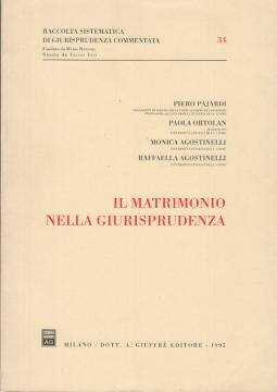 IL MATRIMONIO NELLA GIURISPRUDENZA