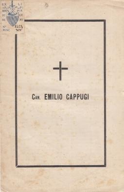 CAN. EMILIO CAPPUGI