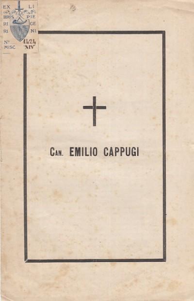 Can. emilio cappugi - Lapini Fderigo