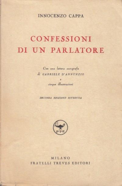 Confessioni di un parlatore - Cappa Innocenzo