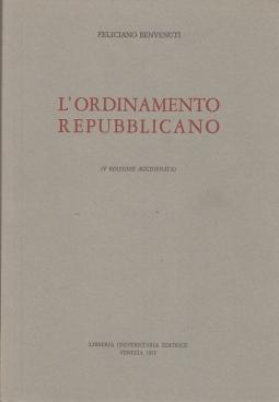 LORDINAMENTO REPUBBLICANO
