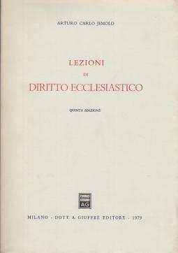 LEZIONI DI DIRITTO ECCLESIASTICO