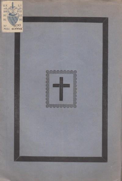 Necrologio dell'arcidiacono carlo guadagni di arezzo