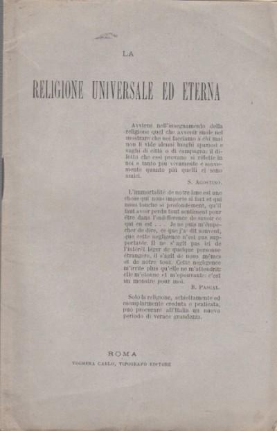 La religione universale ed eterna