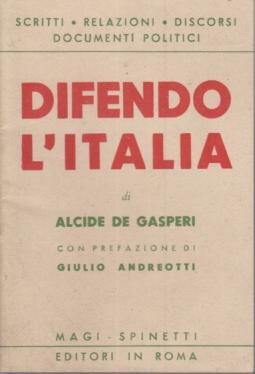 DIFENDO L'ITALIA