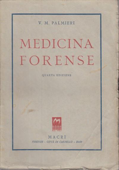 Medicina forense - Palmieri V.m.