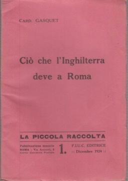 CIÒ CHE L'INGHILTERRA DEVE A ROMA