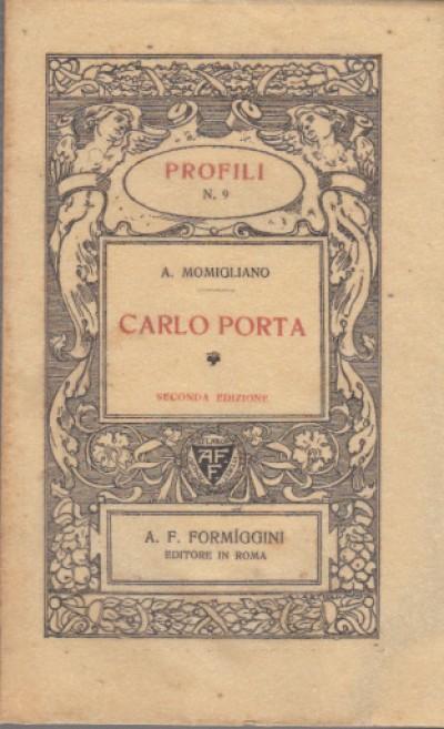 Carlo porta - Attilio Momigliano