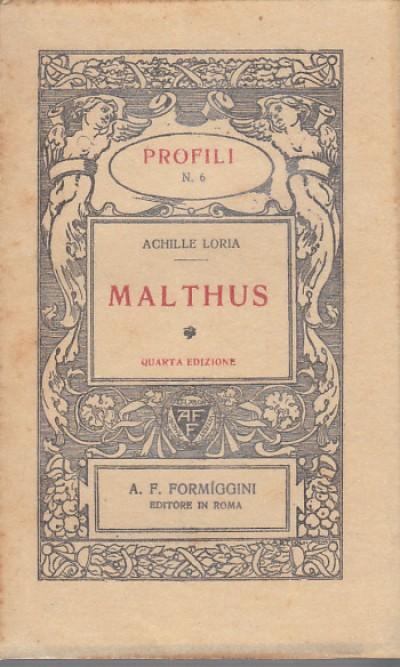 Malthus - Loria Achille